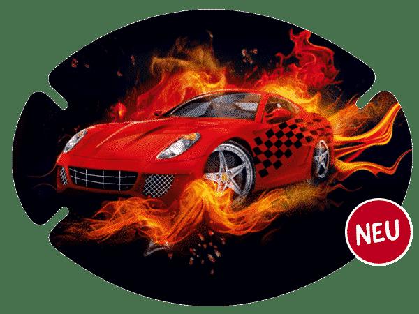 augenpflaster-motiv-fire-car