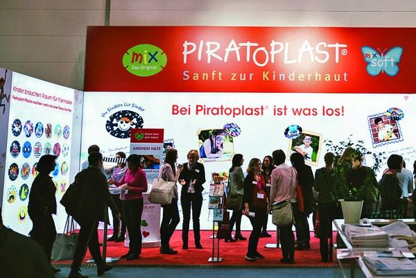 Messeauftritt von Piratoplast