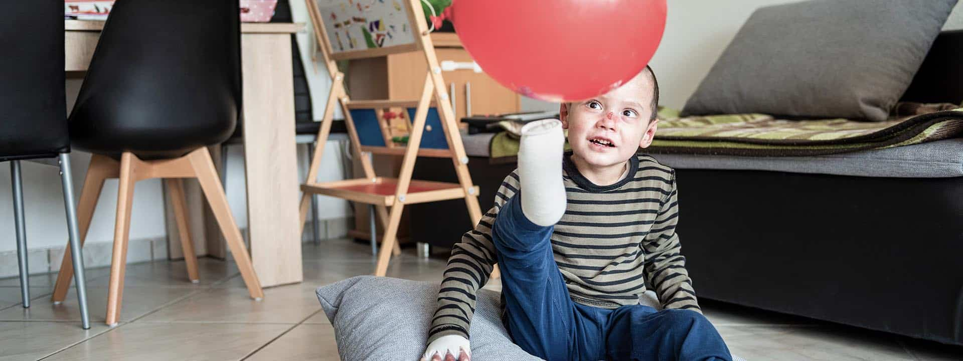 Ergotherapie hilft bei der Behandlung von Epidermolysis bullosa