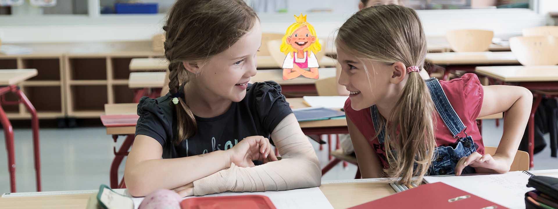So lernt Ihr Schmetterlingskind die Erkrankung in der Schule zu kommunizieren