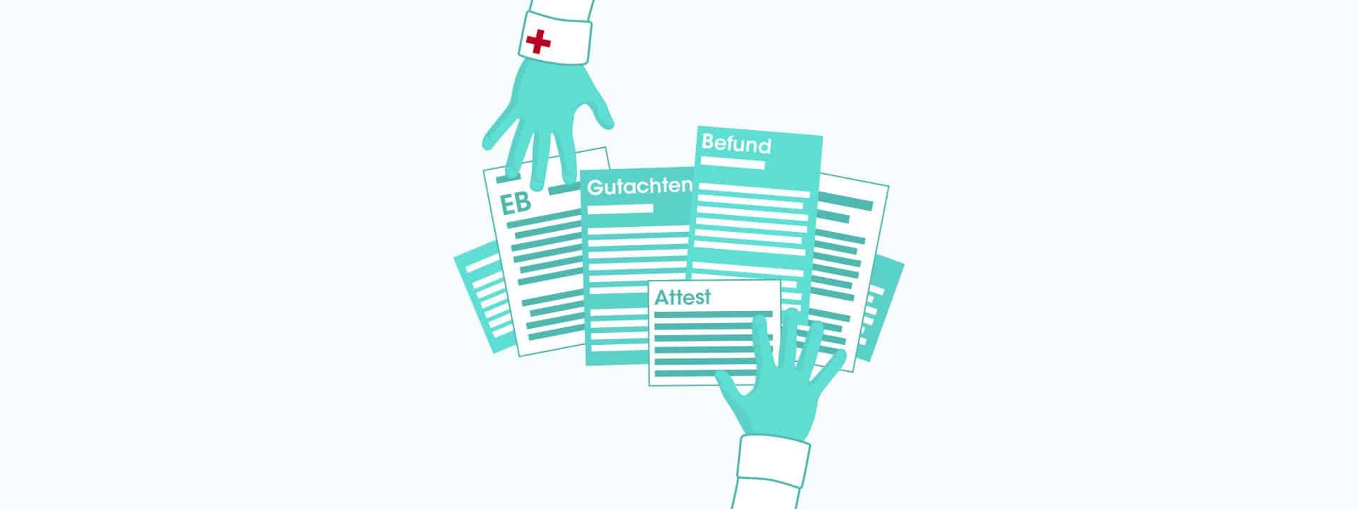 Attest und Gutachten für Integrationsplatz bei Epidermolysis bullosa