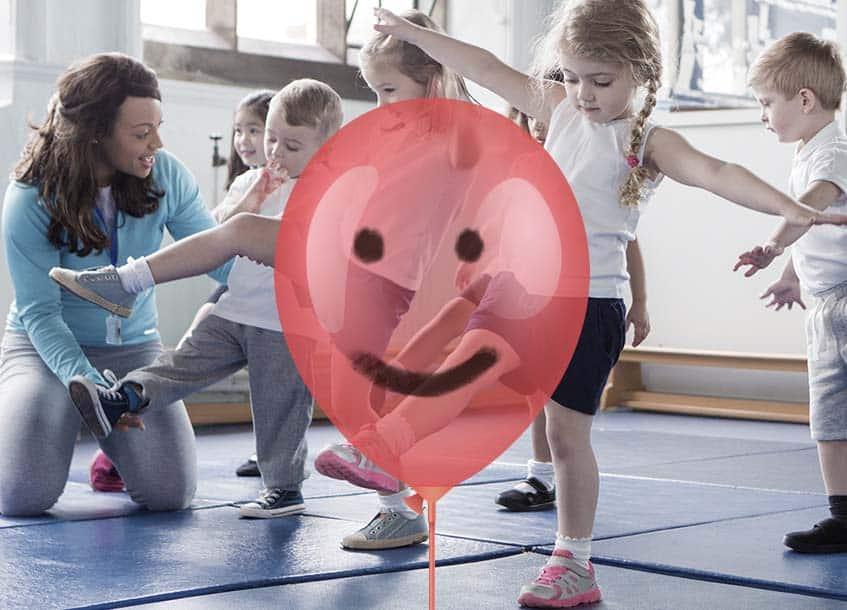 Kindergartenkind - Wut Luftballon EB