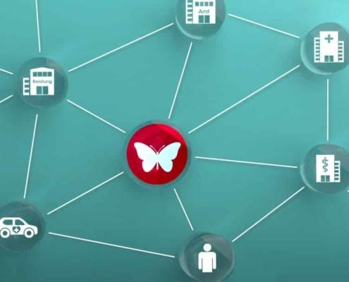 Netzwerk aus Diensten und Einrichtungen, die Sie im Alltag bei Epidermolysis bullosa unterstützen