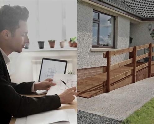 Wohnberatungsstellen beraten bei behinderungsgerechte Umbauten für Menschen mit Schmetterlingskrankheit