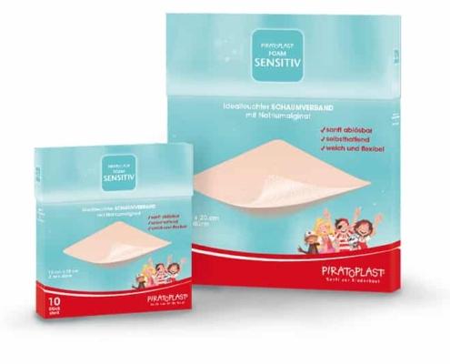 Wundverband Piratoplast Foam Sensitiv
